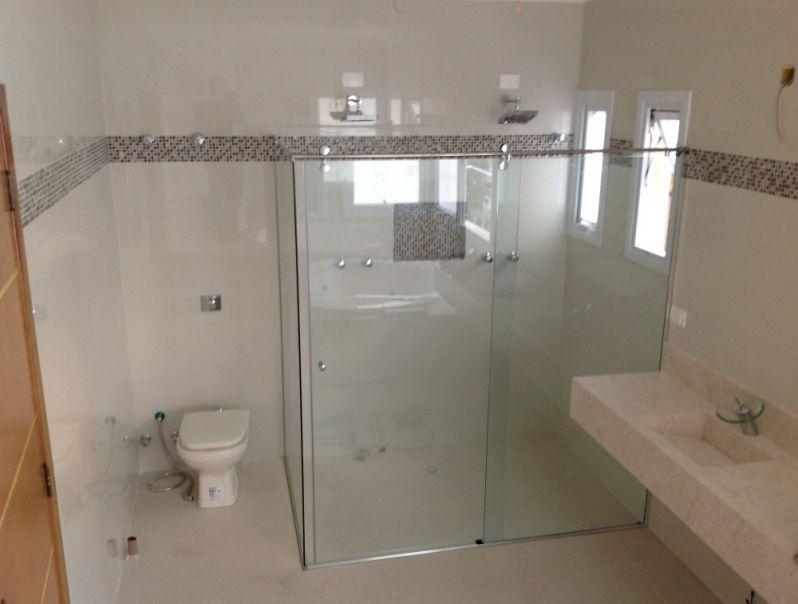 Box Banheiro em Santana de Parnaíba - Box Frontal para Banheiro