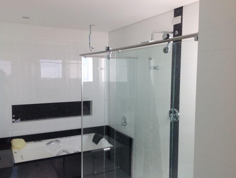 Box de Vidro para Banheiro em Santos - Box de Alumínio