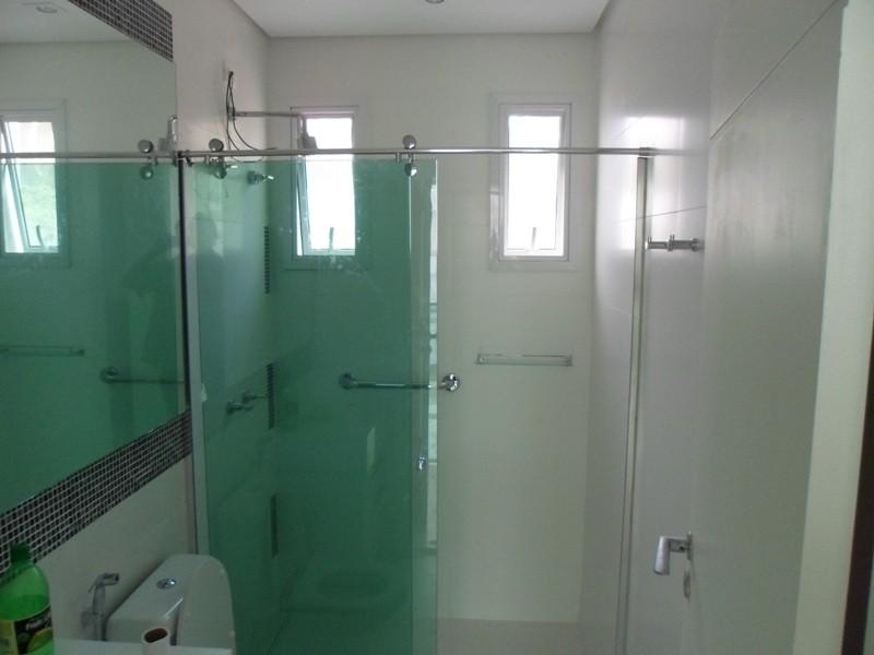 Box de Vidro para Banheiros em Bertioga - Box em Aço Inox
