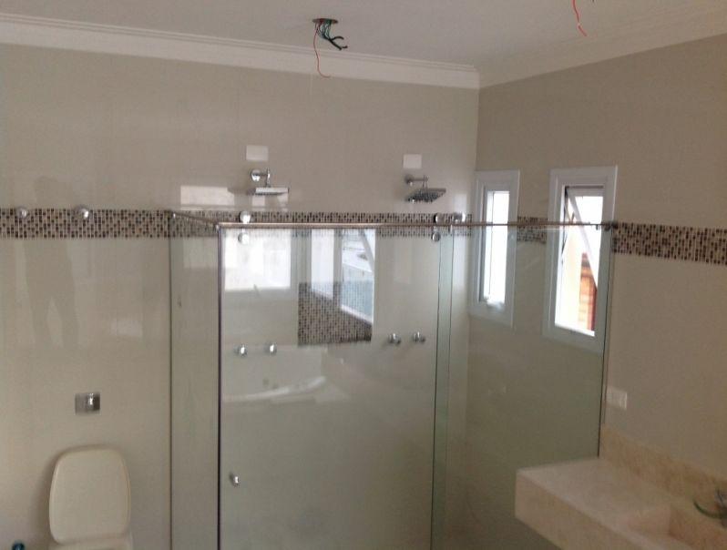 Box para Banheiro em Vidro Pontilhado na Vila Leopoldina - Box de Vidro no Litoral