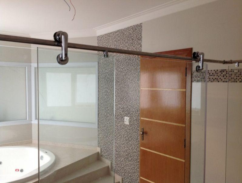 Box Vidro para Banheiro na Vila Buarque - Box de Alumínio