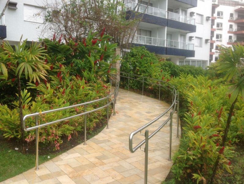 Corrimão com Normas Preço em Santana de Parnaíba - Corrimão para Escada
