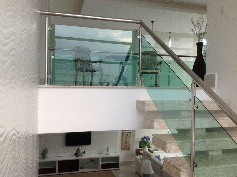 Famosos Corrimão de Escada em Vidro em Carapicuíba - Corrimão em Vidro e  HE25