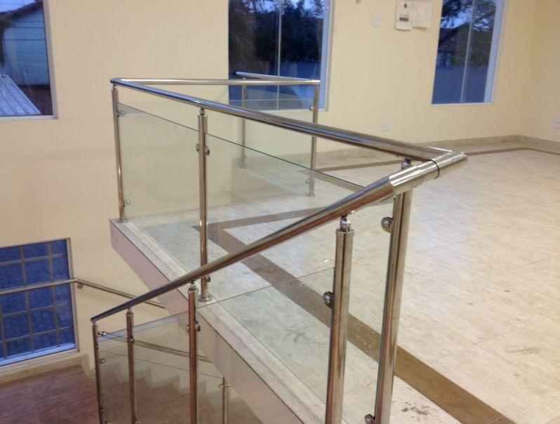 Corrimão de Vidro em Sp Preço no Jockey Club - Corrimão para Escada