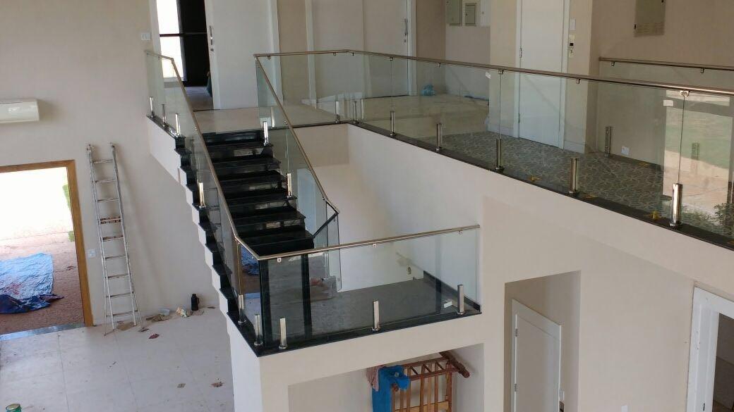 Corrimão de Vidro em Sp em Santo Amaro - Corrimão para Escada