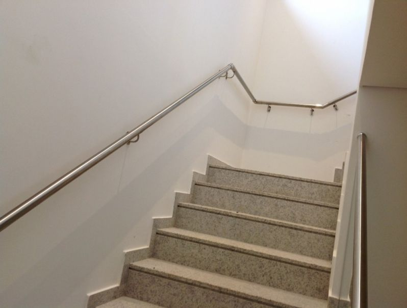 Corrimão para Escadarias Preço na Aclimação - Corrimão Articulado