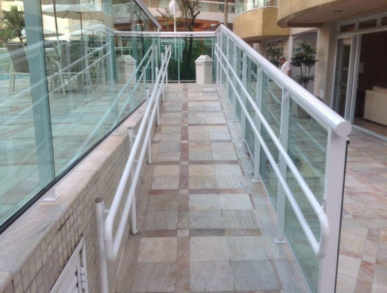 Corrimão para Prédio em Praia Grande - Corrimão para Escada