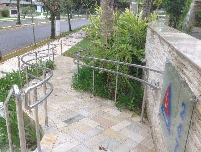 Corrimão Preço em São Sebastião - Corrimão para Escadas