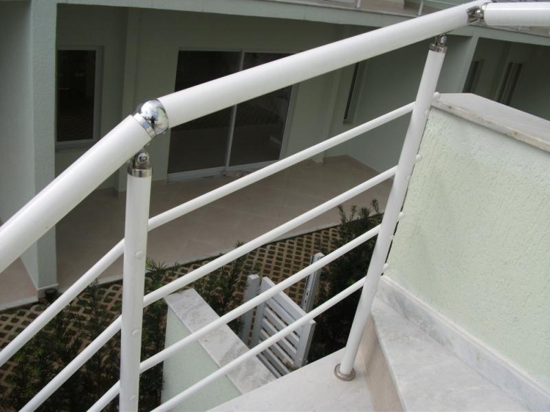 Corrimões de Alumínio para Escadas Externas em Sumaré - Corrimão de Alumínio para Escada