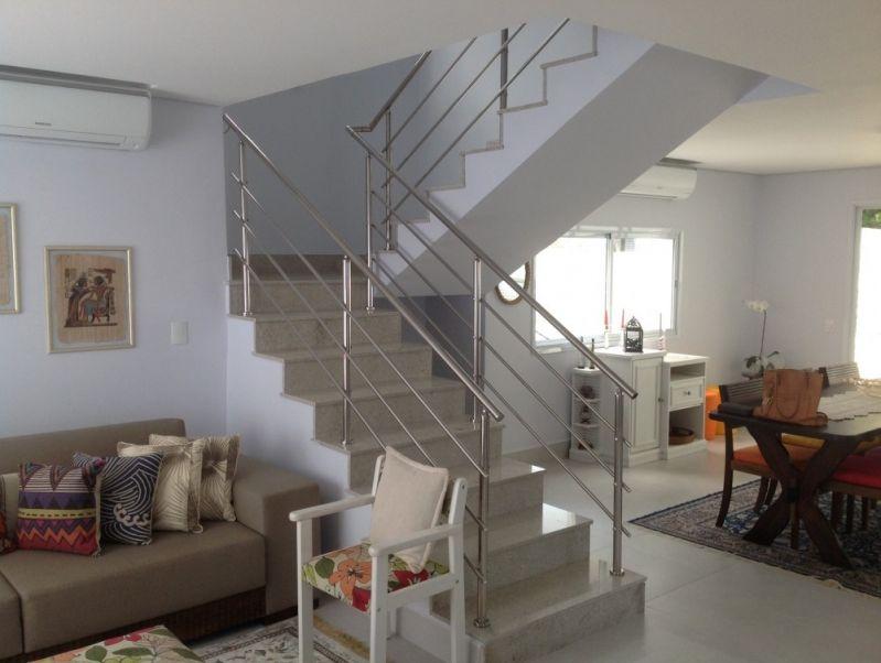 Empresa de Corrimão para Escadas na Vila Andrade - Corrimão Articulado