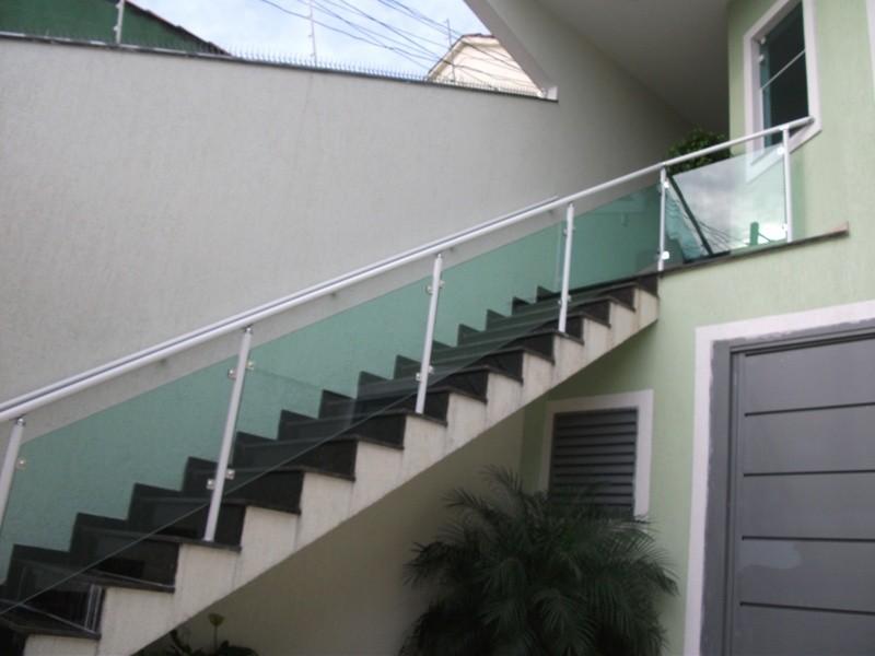 Fábrica de Corrimão em Vidro sob Medida no Ibirapuera - Corrimão para Escada