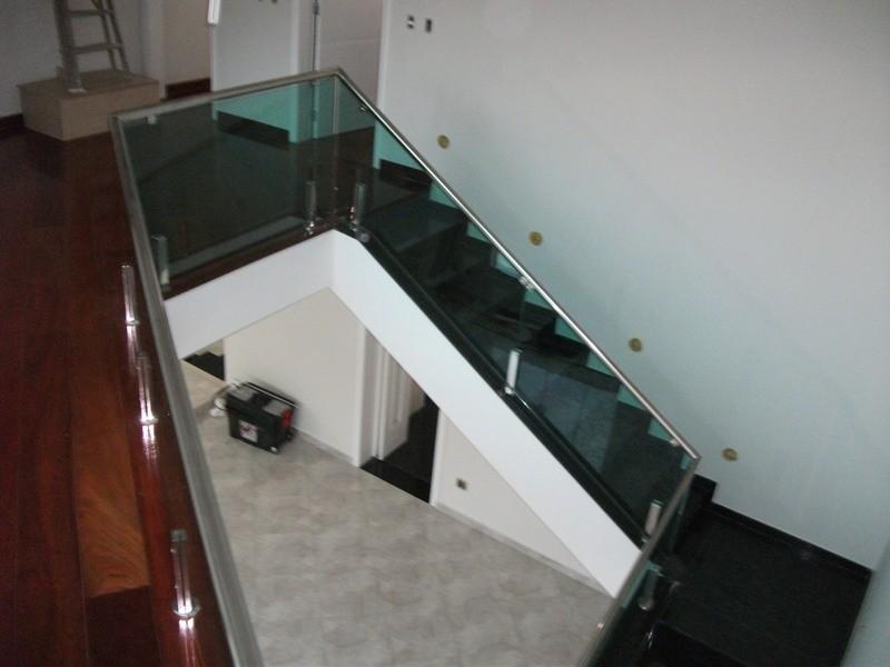 Fábrica de Corrimão em Vidro na Liberdade - Corrimão para Escada
