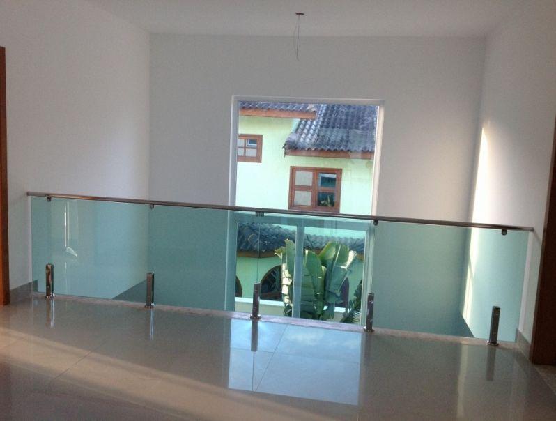 Guarda Corpo em Vidro e Inox em Santos - Guarda Corpo em Vidro e Inox