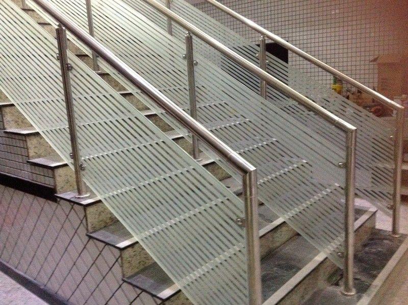 Guarda Corpo para Escadaria Preço em São Bernardo do Campo - Guarda Corpo em Vidro e Inox