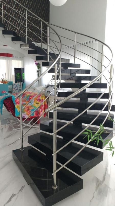 Onde Comprar Corrimão de Alumínio Escovado em Jandira - Corrimão de Alumínio para Escada