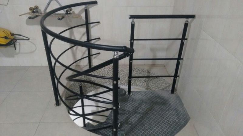 Onde Comprar Corrimão de Alumínio para Escada Caracol no Jockey Club - Corrimão de Alumínio para Escada