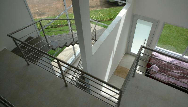 Onde Encontrar Corrimão de Inox no Guarujá - Corrimão de Aço Inox para Escada