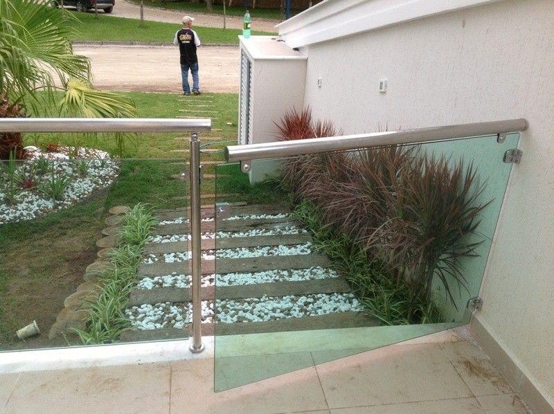 Portão em Vidro Temperado Preço ARUJÁ - Portas e Janelas em São Bernardo do Campo