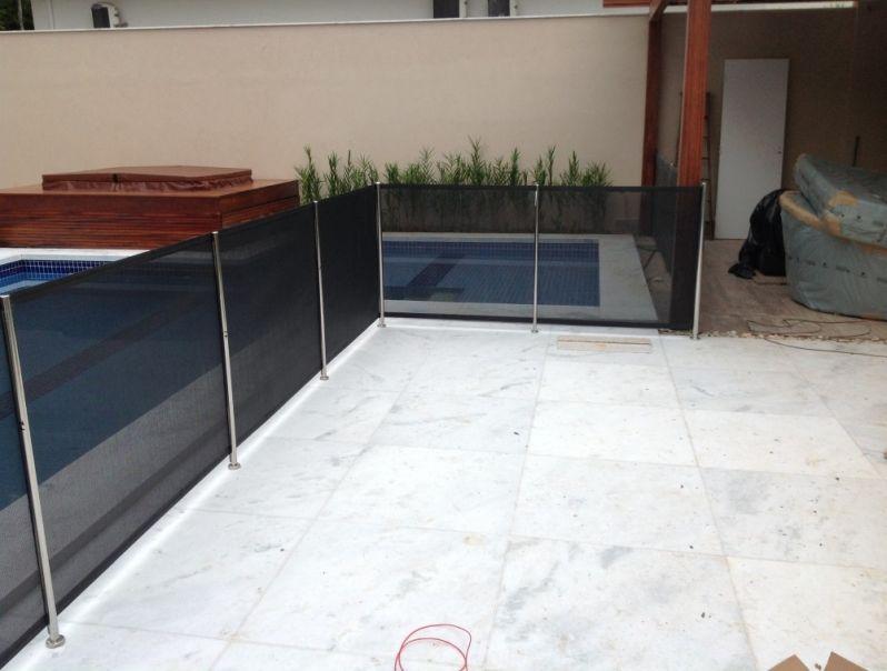 Quanto Custa Fechamento em Tela para Piscinas em Carapicuíba - Fechamento de Piscina em São Bernardo do Campo