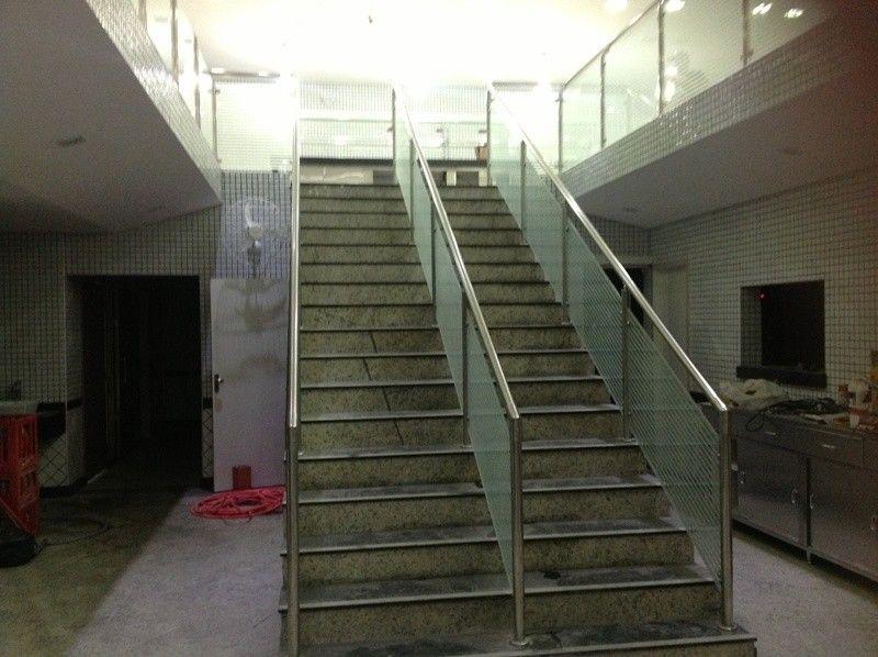 Quanto Custa Guarda Corpo para Escadaria no Centro - Guarda Corpo em Vidro e Inox