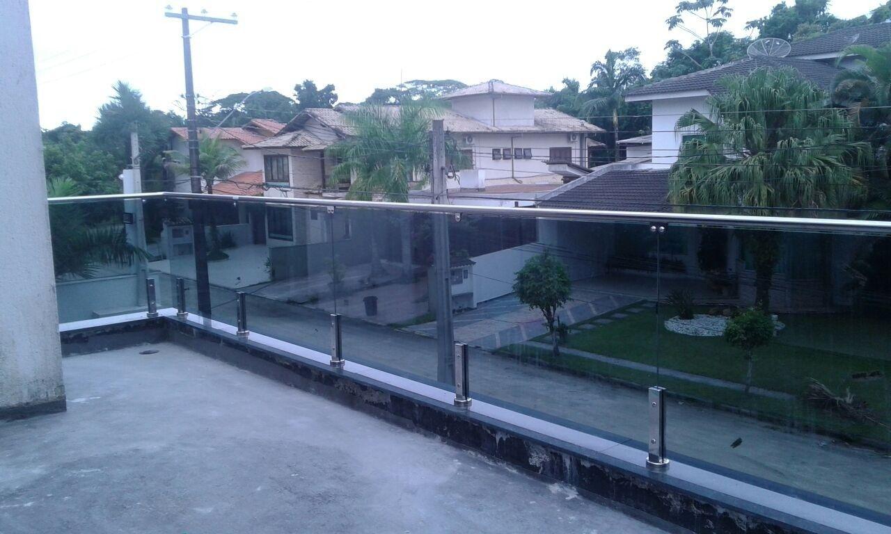 #3E5D8D Sacadas com Vidro Alfa Corrimão e Vidros 332 Janelas De Vidro Temperado Na Zona Norte