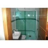 box de banheiro vidro temperado no Jardim Paulistano