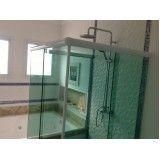 box de vidro para banheiro grande na Liberdade