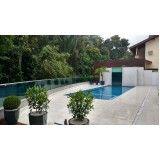 cercado para proteção de piscina no Butantã