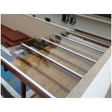 coberturas de vidro para pergolados de madeira preço em Osasco