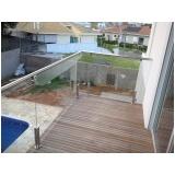 corrimão de aço inox para piscina em Santana de Parnaíba