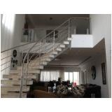 corrimão de inox para escada caracol preço no Alto de Pinheiros