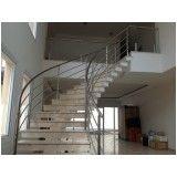 fábrica de corrimão de vidro para escada no Aeroporto