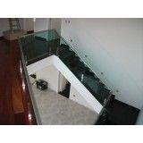 fábrica de corrimão em vidro em Interlagos