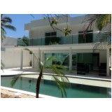 fechamento de piscina com tela em aço em São Domingos