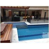 fechamento de piscina com tela na Vila Buarque