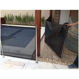 fechamento em tela para piscinas preço em Cotia