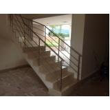 guarda corpo de inox para escada preço em Itapevi