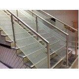 guarda corpo para escadaria preço em São Sebastião