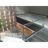guarda corpos de aço inox escovados em Osasco