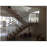 instalação de guarda corpo de aço inox com vidro no Jockey Club