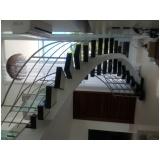 instalação de guarda corpo de inox para escada no Jardim Paulistano