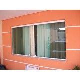 janela de correr em vidro temperado em Riviera de São Lourenço