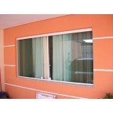 janelas de correr em vidro preço na Vila Andrade