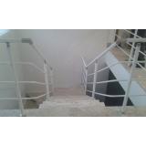 onde comprar corrimão de alumínio branco em Higienópolis