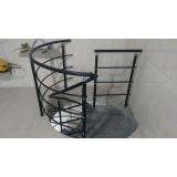 onde comprar corrimão de alumínio para escada caracol no Jardim Paulista