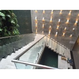 orçamento de corrimão com vidro no Jardim Paulista