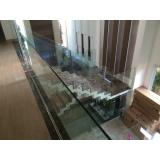 orçamento de corrimão de vidro no Ibirapuera