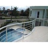 projeto de fechamento de piscina com tela em Mauá
