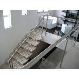 quanto custa corrimões para escada na Bela Vista