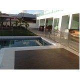 quanto custa fechamento de piscina em vidro em Santos
